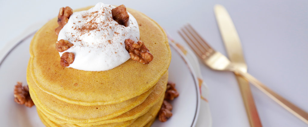 Fall in Love With These Pumpkin Spice Pancakes