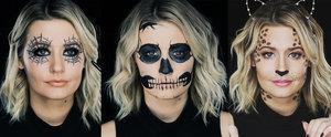 3 Gorgeous Halloween Costumes Using Only Eyeliner!