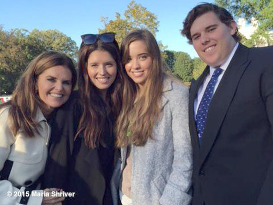 Maria Shriver's Day Covering Pope Francis: 'This Pope Is Inspiring for Me as an American, as a Woman, as a Catholic'