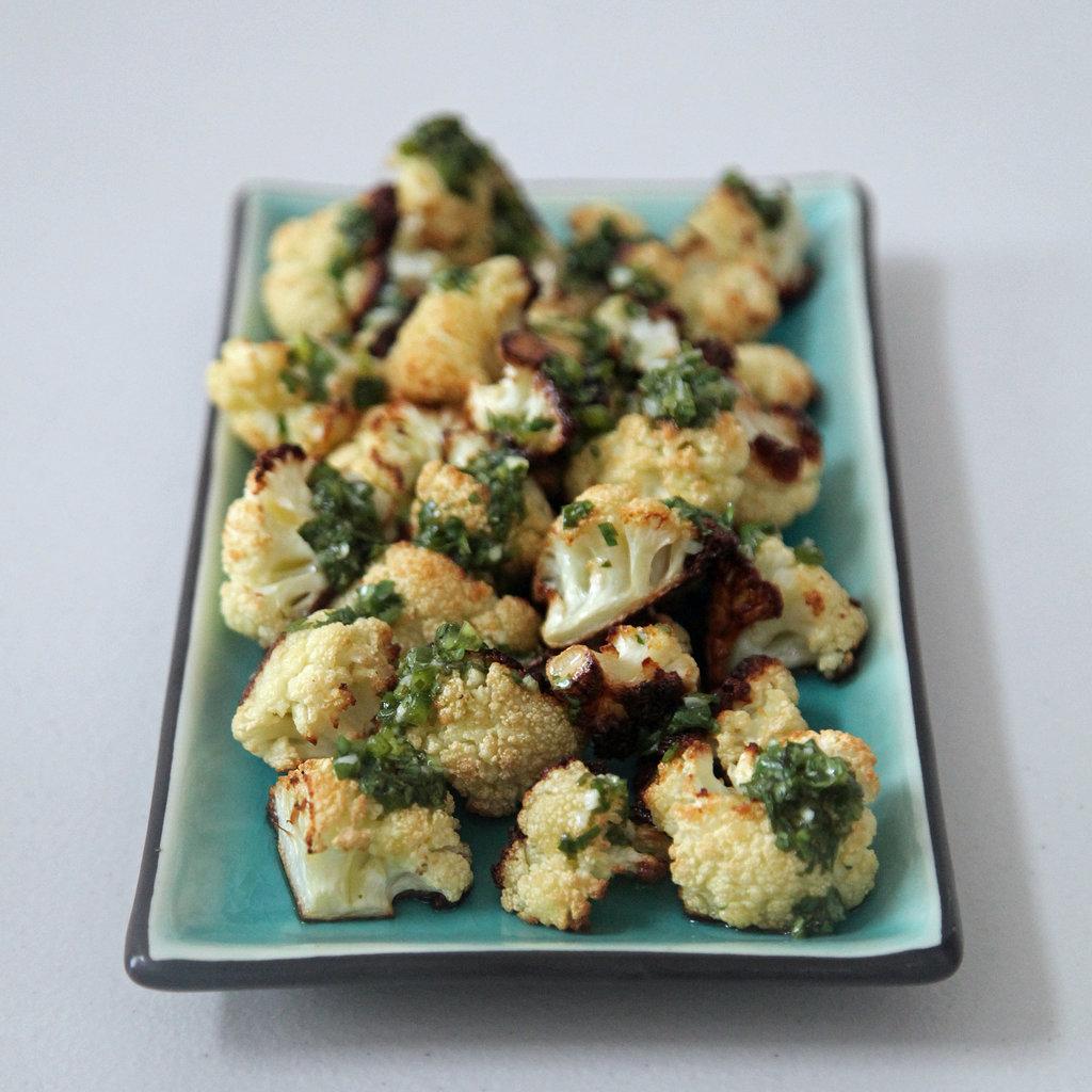Roasted Cauliflower With Salsa Verde