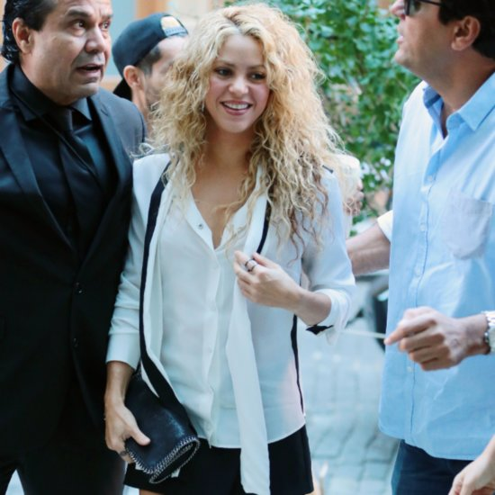 Shakira Steps Out in New York City Pictures | September 2015