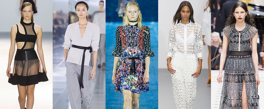 The 7 Key Trends From London Fashion Week for Spring 2016