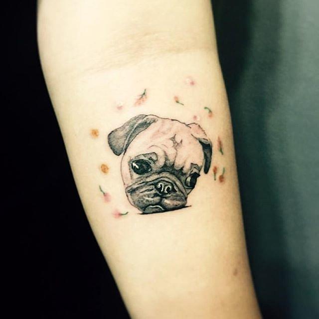 Animal tattoos popsugar pets for Tattoo secret life of pets