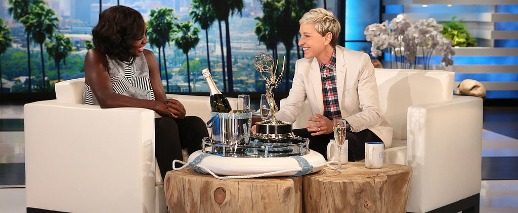 Viola Davis Reveals Her Husband's Hilarious Reaction to Her Emmys Speech