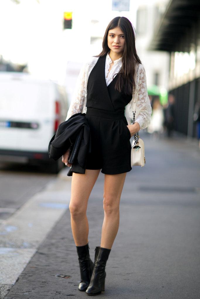 Best Model Street Style At Fashion Week Spring 2016 Popsugar Fashion Australia