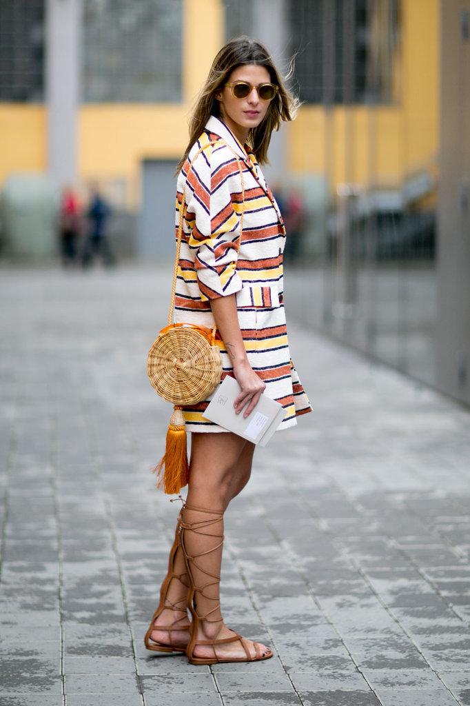 Street Style At Milan Fashion Week Spring Summer 2016 Popsugar Fashion Australia