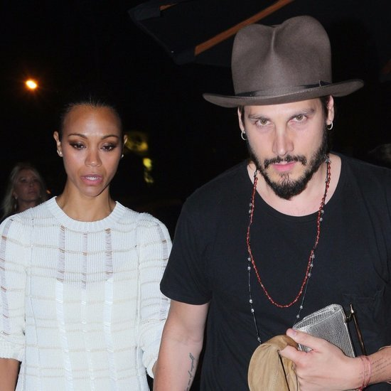 Zoe Saldana and Marco Perego LA Pictures September 2015