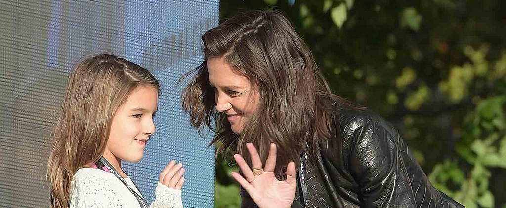 Katie Holmes Turns Her Public Appearance Into a Lovely Mother-Daughter Date