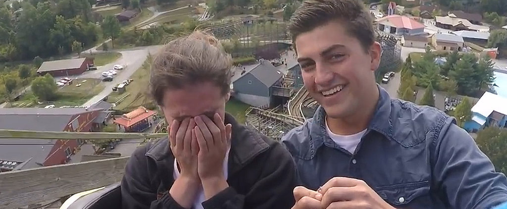This Roller-Coaster Proposal Is Definitely the Ride of a Lifetime
