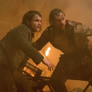 Daniel Radcliffe and James McAvoy Victor Frankenstein Video