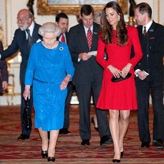 Die Queen verleiht Kate Middleton eine der höchsten Ehren