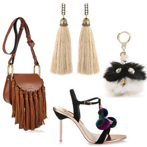 The Best Clothes, Shoes and Bags with Pom Poms and Tassels
