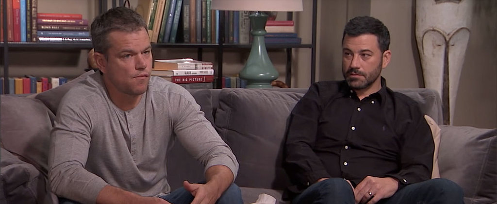 Matt Damon and Jimmy Kimmel Work Out Their Issues in a Couples Therapy Session