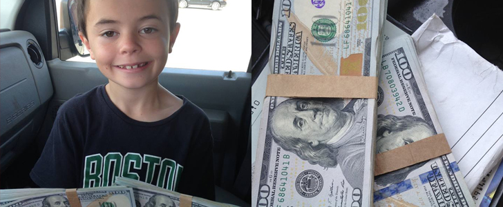 A 7-Year-Old Boy Finds $8,000 at the Playground, and You Won't Believe What Happens Next