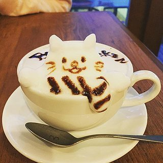 Animal Latte Art