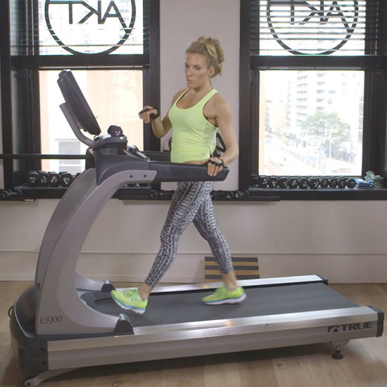 The Anti-Running Treadmill Workout for Total-Body Toning