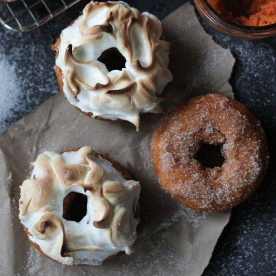 Pumpkin S'mores Doughnuts Recipe