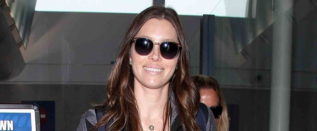 Jessica Biel Sports a Big Grin During a Casual Outing