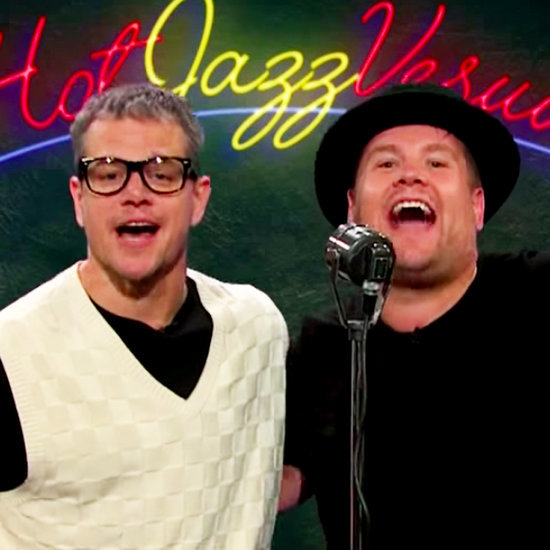 Matt Damon and James Corden Re-Create Movies