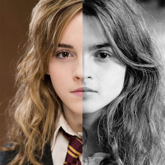 Emma Watson Looks Like Helena Bonham Carter