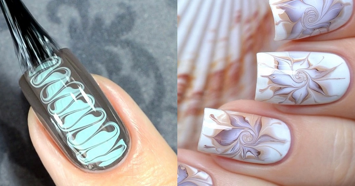 Marble Nail Art Tutorials From Instagram | POPSUGAR Beauty