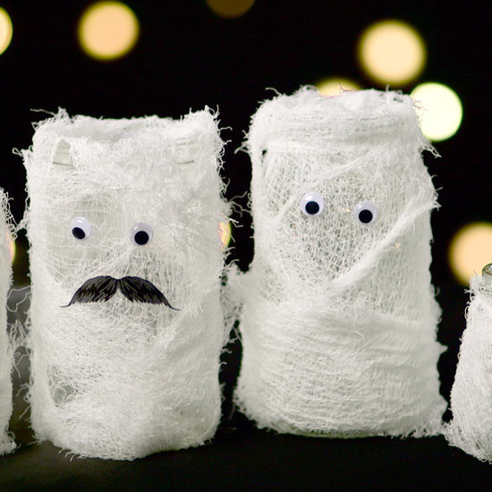 Mummified Halloween Decorations
