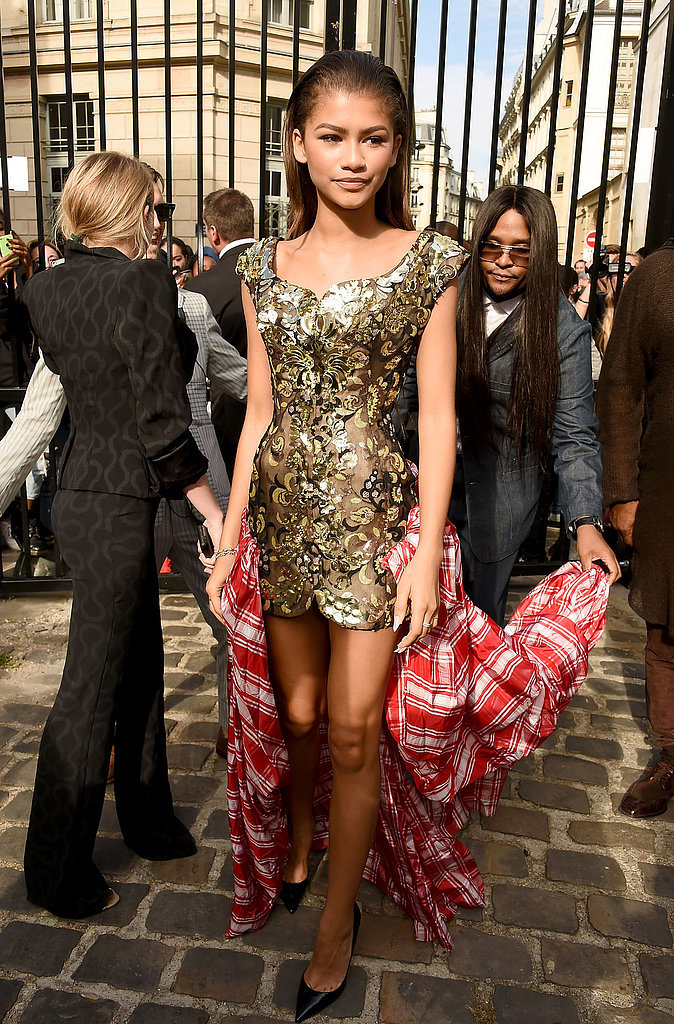 Zendaya Makes a Jaw-Dropping Appearance at Paris Fashion Week