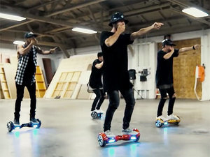 Watch These Dancers Channel Justin Bieber with Hoverboard Performance to 'What Do You Mean?'