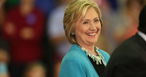 Hillary Clinton Earns Backing Of Nation's Largest Union