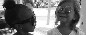 North West and Penelope Disick Have a Truly Bubbly Bonding Moment