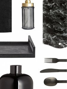 13 Black Accessories to Give Your Kitchen Attitude