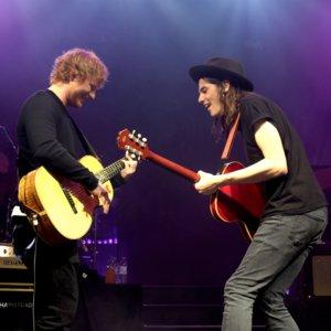 "Ed Sheeran and James Bay ""Let It Go"" Video"