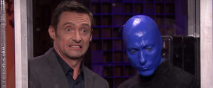 Watch Hugh Jackman Get Crammed Into a Phone Booth With a Bunch of Surprise Guests