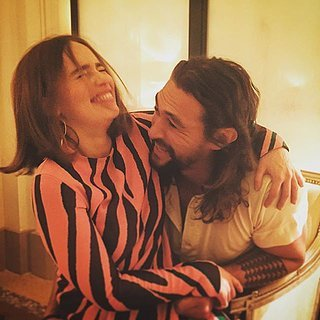 Emilia Clarke and Jason Momoa Reunite | Pictures