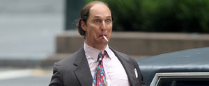 Matthew McConaughey Looks Positively Grotesque on the Set of His New Film