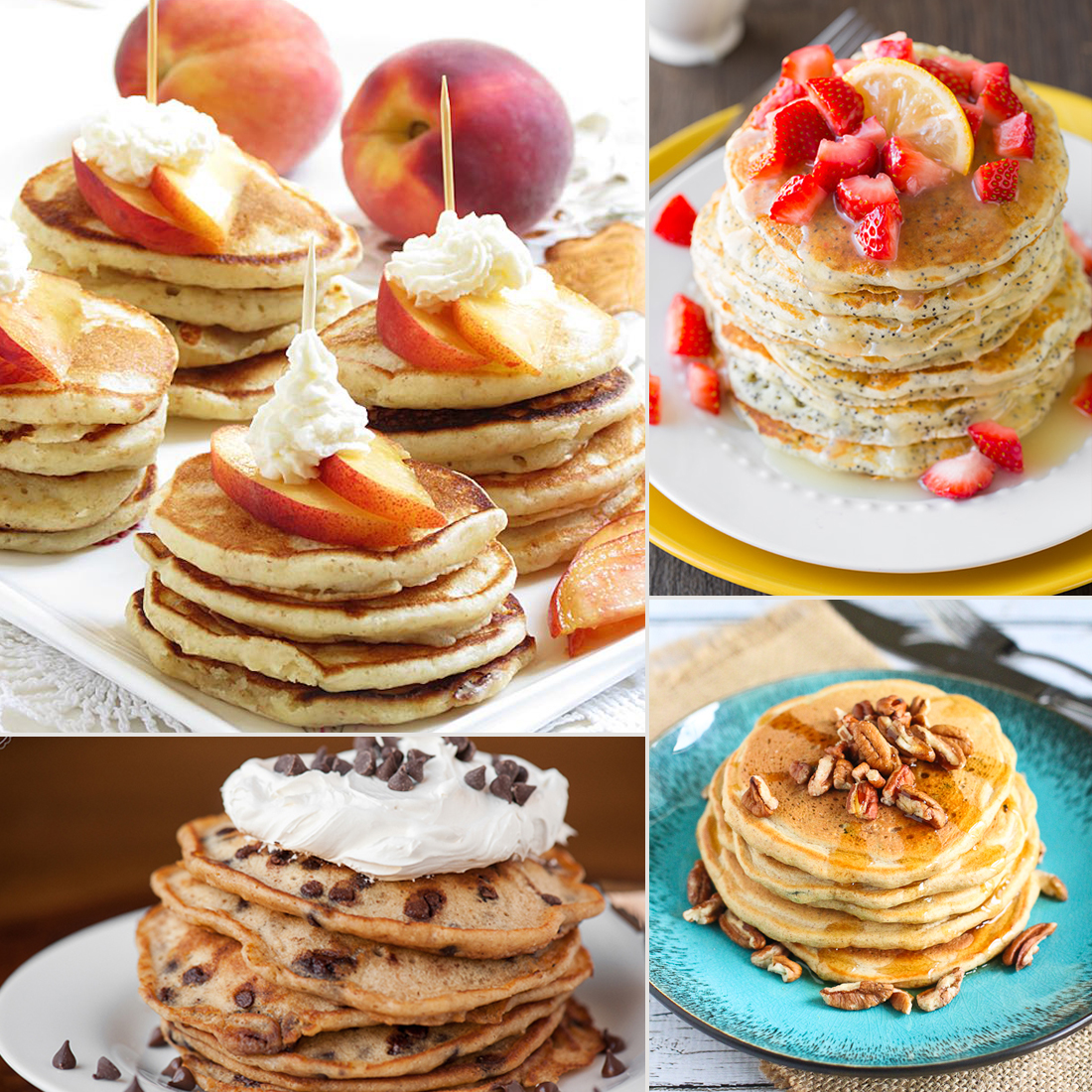 21 Pancake Recipes to Help Kids Start Their Day the Happy Way