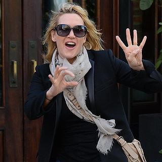 Kate Winslet an ihrem 40. Geburtstag