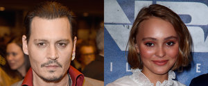 "Johnny Depp Admits to Being ""Quite Worried"" About Daughter Lily-Rose"