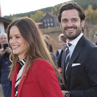 Prince Carl Philip and Princess Sofia in Dalarna 2015