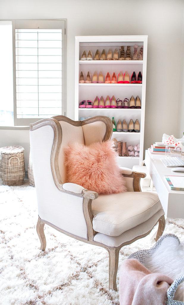 hello fashion blogger 39 s home office makeover popsugar home