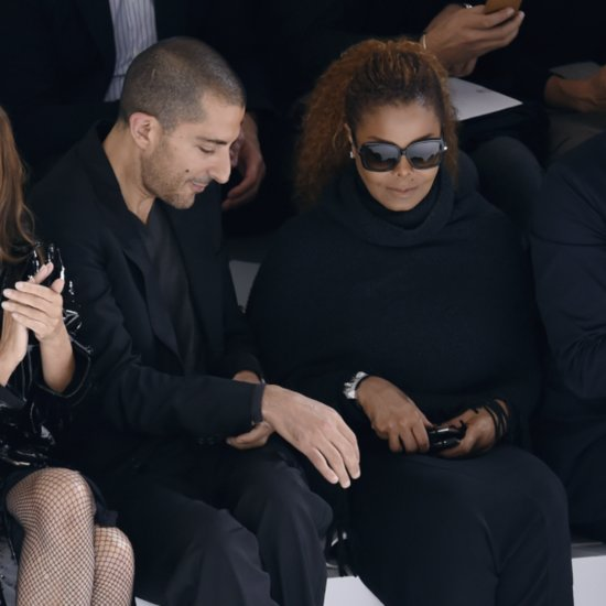 Janet Jackson and Wissam Al Mana at Paris Fashion Week