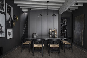 Steal This Look: Blackout Dining Room in Lyon, France