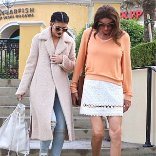 Caitlyn Jenner and Kylie Jenner Pictures October 2015