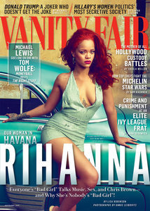 Rihanna explains why she got back together with Chris Brown in Vanity Fair cover profile