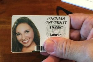 Lauren, Tom Hanks Found Your Fordham University Student ID