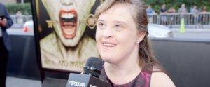 American Horror Story's Jamie Brewer Looks to Family and Cast For Courage
