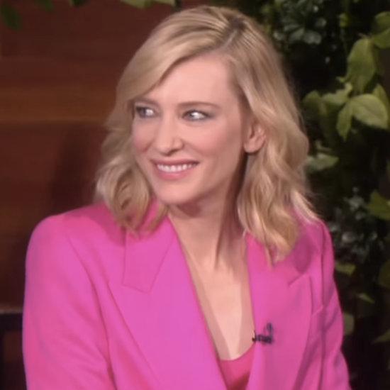 Cate Blanchett on The Ellen DeGeneres Show October 2015