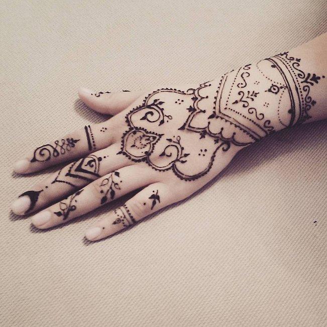 Dream Catcher Henna Tattoo Designs: Dream Catcher Henna Design!