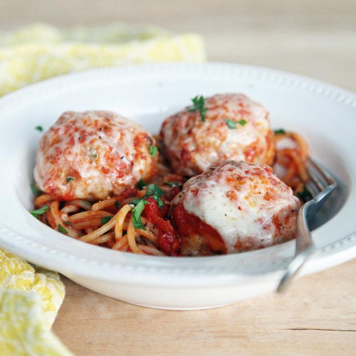 Chicken Parmesan Meatballs Recipe | POPSUGAR Food