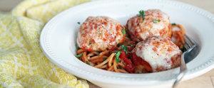 Chicken Parm Meatballs Combine 2 Comforting Italian-American Classics